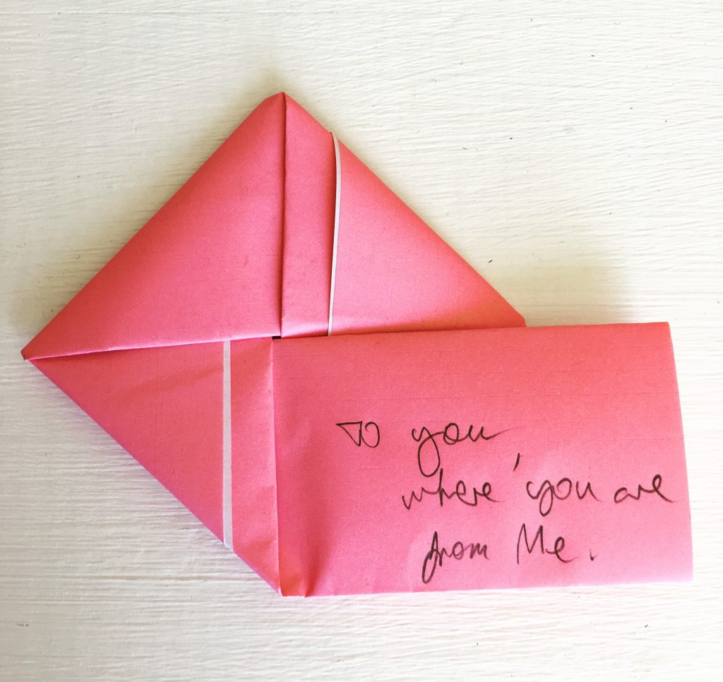 Message Origami