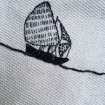Embroidered Boat