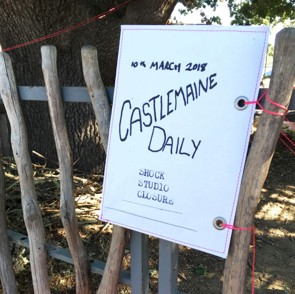 Castlemaine Daily Newspaper heralds the news